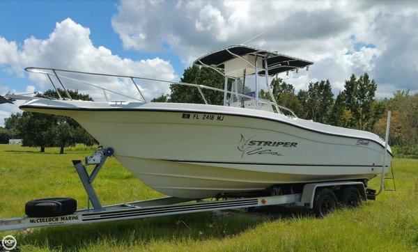 Used Seaswirl 2301 CC Striper Center Console Fishing Boat For Sale