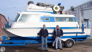Used Seacamper 24 House Boat For Sale