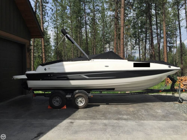 Used Bayliner 215 Deckboat Deck Boat For Sale