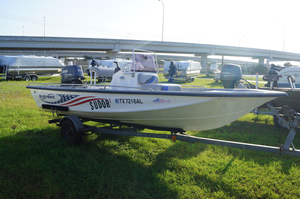 Used Blue Wave 180 SUPER T Center Console Fishing Boat For Sale