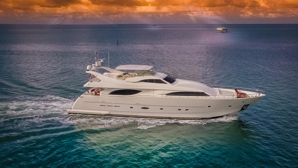 Used Ferretti Custom Line 94 Motor Yacht For Sale