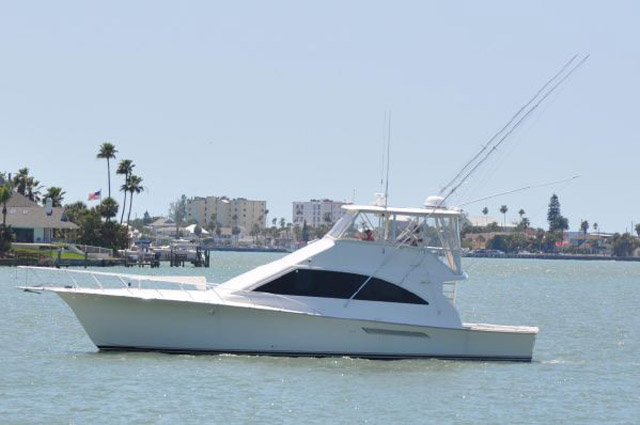 2001 used ocean yachts super sport sports fishing boat for for Fishing boats for sale nj