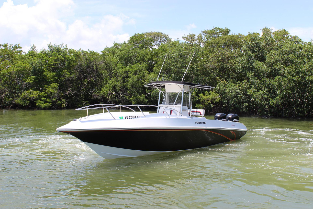2003 used fountain 31 tournament edition saltwater fishing for Offshore fishing boats for sale