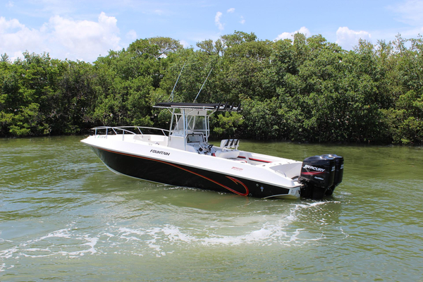 Used Fountain 31 Tournament Edition Saltwater Fishing Boat For Sale