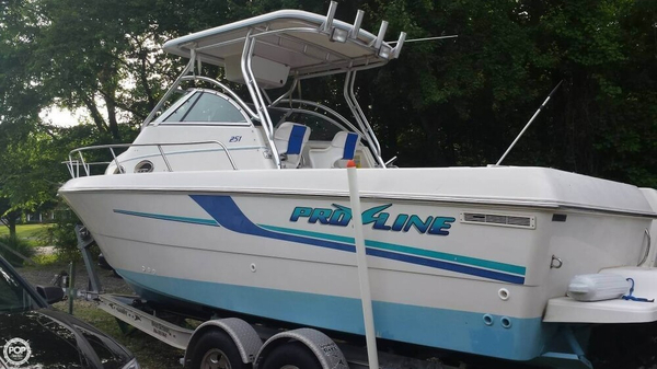 Used Pro-Line 251 WA Walkaround Fishing Boat For Sale