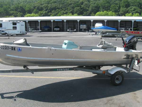 Used Meyers Boat Company 14 Laker Utility Boat For Sale