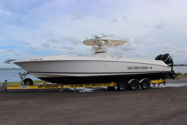 Used Wellcraft 35 Scarab Sport Center Console Fishing Boat For Sale