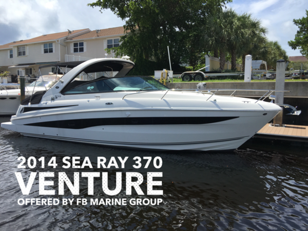 New Sea Ray 370 Venture Cruiser Boat For Sale