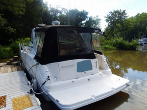 Used Rinker Fiesta Vee 342 Express Cruiser Boat For Sale