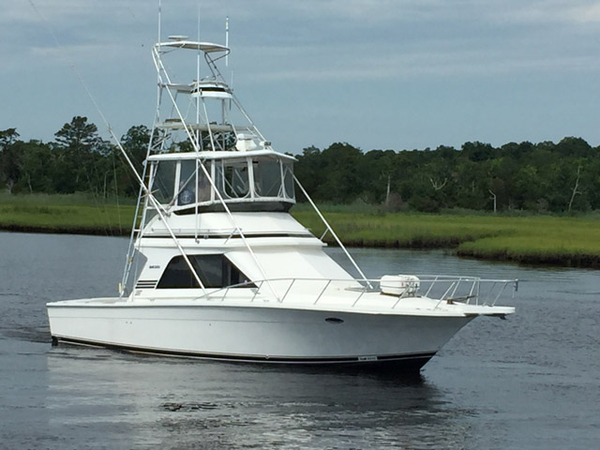 Used Blackfin 38' Blackfin Convertible Sports Fishing Boat For Sale