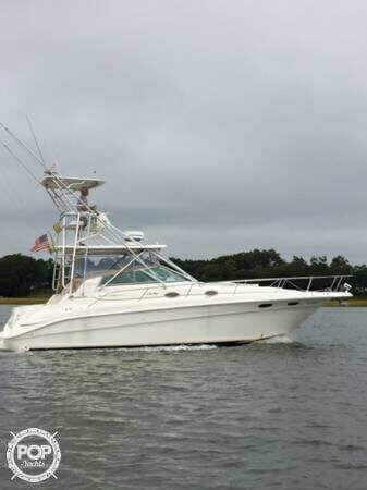 Used Sea Ray 330 Sundancer Sports Fishing Boat For Sale