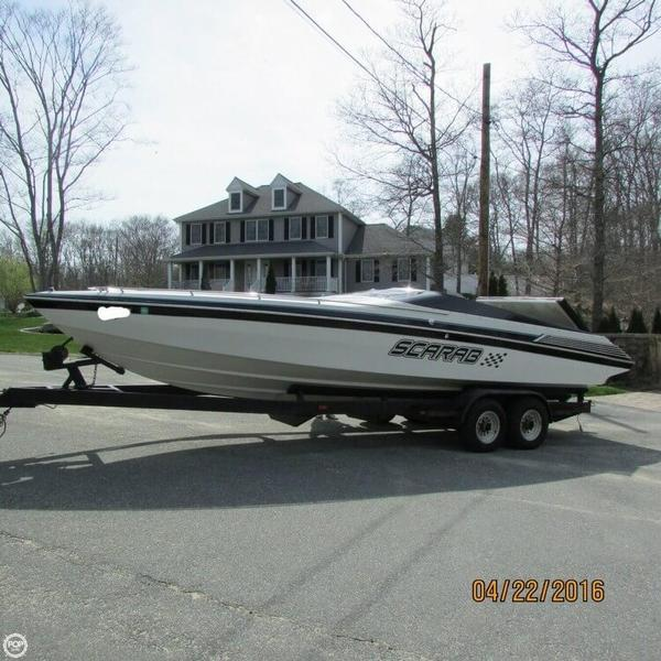 Used Scarab 28 High Performance Boat For Sale
