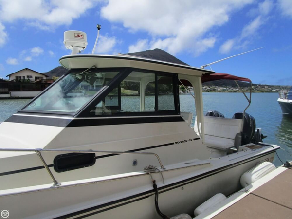 Used Boston Whaler Revenge 25 Walkaround Fishing Boat For Sale