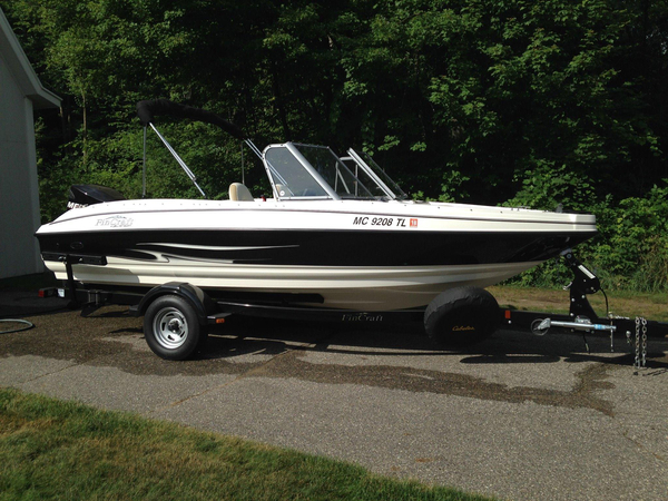 Used Larson FX 1850 DC Freshwater Fishing Boat For Sale