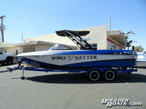 Used Malibu Wakesetter 247 LSV Ski and Wakeboard Boat For Sale