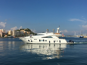 Used Fairline Squadron 78 Motor Yacht For Sale