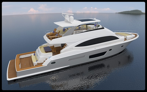New Viking Cockpit Motor Yacht Motor Yacht For Sale