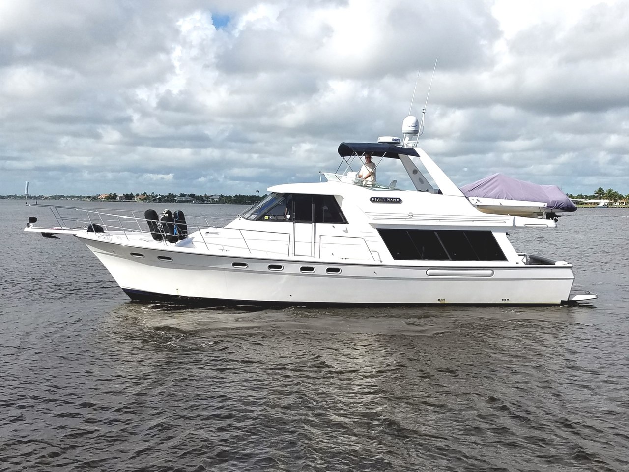 1997 used bayliner 4788 pilot house motor yacht for sale for Used motor yacht for sale