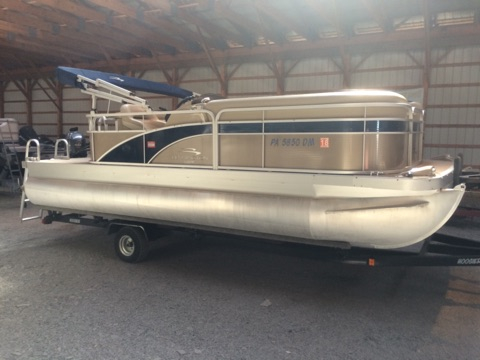 Used Bennington 20 SLX Pontoon Boat For Sale