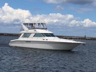 Used Sea Ray 55 Sedan Bridge Motor Yacht For Sale