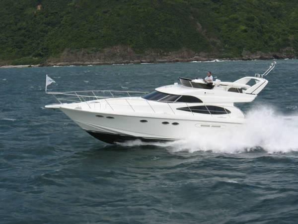 Used Dyna 48 Flybridge Boat For Sale