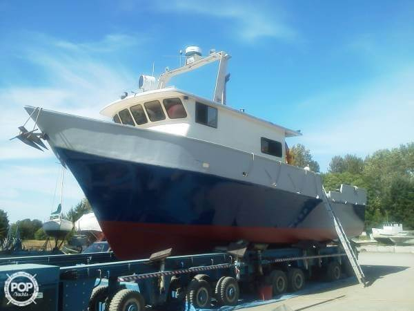 Used Blakes Custom 55 Packer Pilothouse Boat For Sale