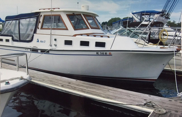 Used Albin 27 Family Aft Cabin Boat For Sale