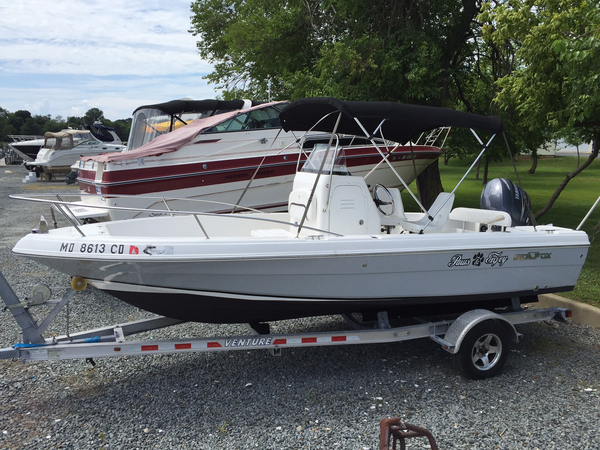 Used Sea Fox 197 CC Center Console Fishing Boat For Sale