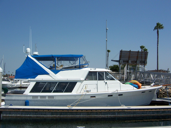 Used Bayliner 4550 Pilothouse Boat For Sale