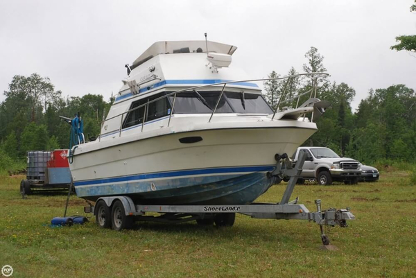 Used Cooper Yachts Prowler 8 meter Express Cruiser Boat For Sale