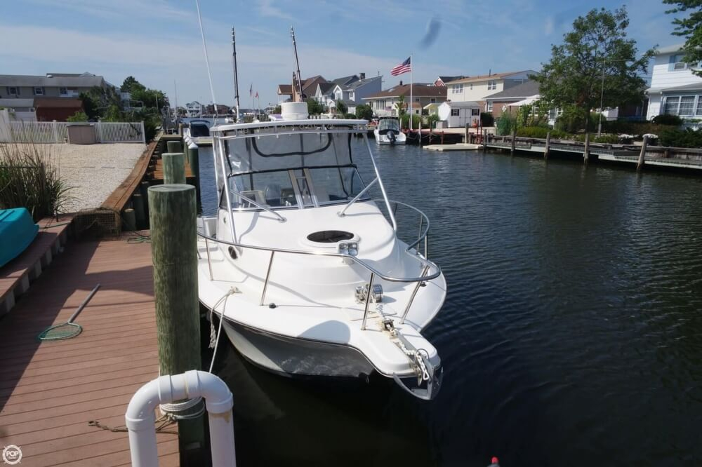 2006 used sea fox 257 walkaround fishing boat for sale for Fishing boats for sale nj