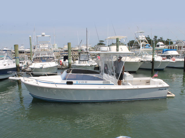 Used Shamrock Stalker Center Console Fishing Boat For Sale