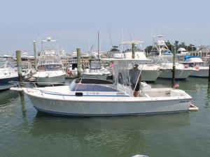 Used Shamrock Stalker Center Console Fishing Boat For Sale