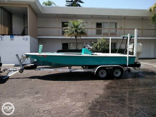 Used Silver King Grande master Flats Fishing Boat For Sale