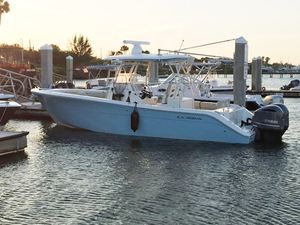 Used Cobia 296 CC Center Console Fishing Boat For Sale