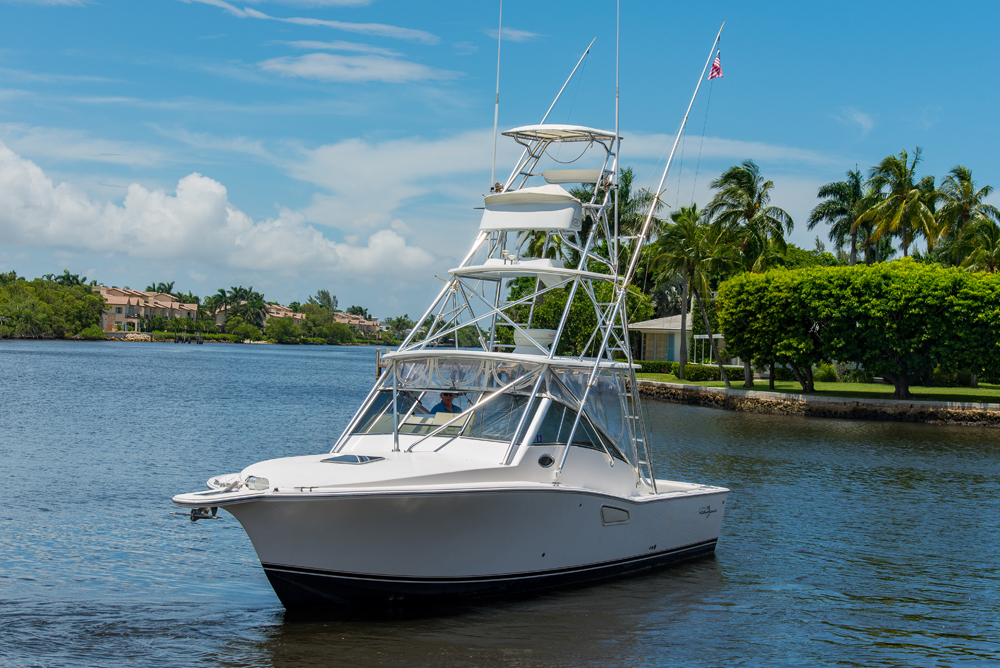 2003 used albemarle sports fishing boat for sale for Delray beach fishing