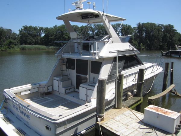 Used Sea Ray 460 Convertible Pontoon Boat For Sale