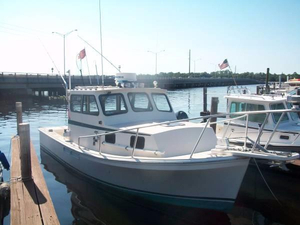 Used General Marine Chesapeake Oyster Bay Saltwater Fishing Boat For Sale