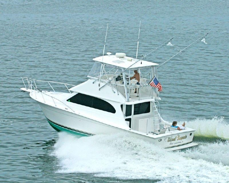 2001 used egg harbor 37 convertible sports fishing boat for Sport fishing boats for sale by owner