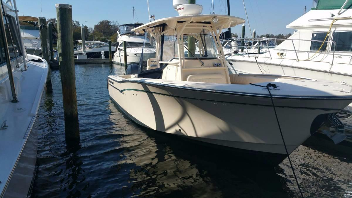 2012 used grady white canyon 306 center console fishing for Grady white fishing boats