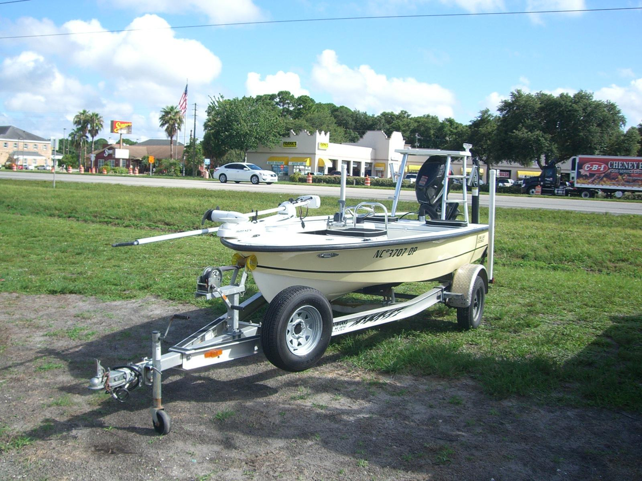 2010 used long bay 15 flats fishing boat for sale for Used fishing boats for sale in florida