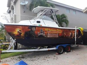 Used Prokat 2200 Wa Walkaround Fishing Boat For Sale