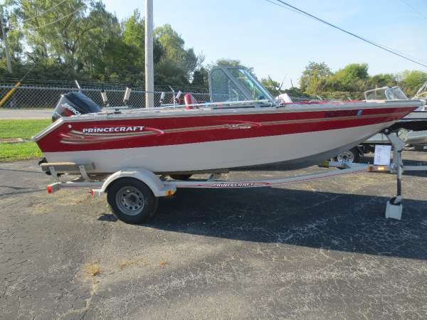 Used Princecraft 174 Freshwater Fishing Boat For Sale