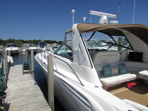 Used Sea Ray 40 Sundancer Express Cruiser Boat For Sale