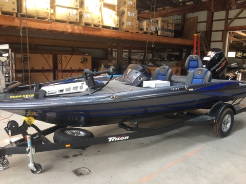 New Triton Boats 189TRX Bass Boat For Sale