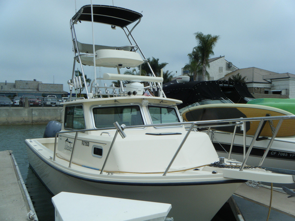 Used Parker 2820 XL Sport Cabin Pilothouse Boat For Sale