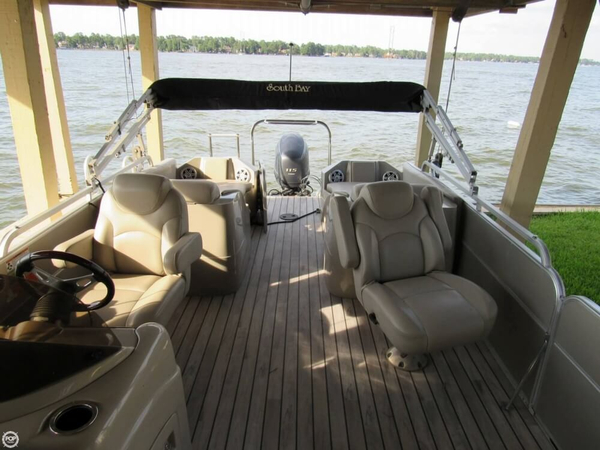 Used South Bay 522 SL Pontoon Boat For Sale
