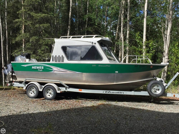 Used Hewescraft 220 Ocean Pro Aluminum Fishing Boat For Sale
