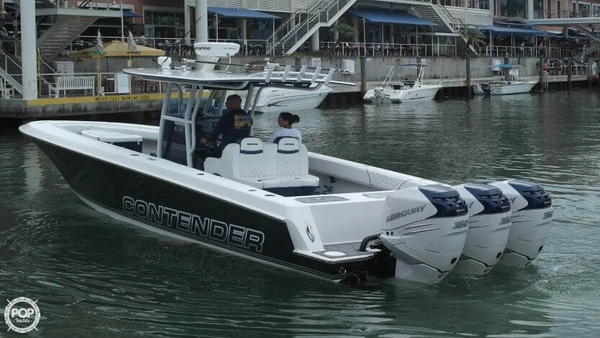 Used Contender 36 Open Fisherman Center Console Fishing Boat For Sale