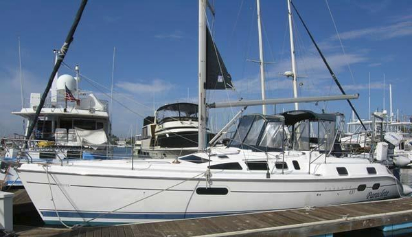 Used Hunter 420 Passage Sloop Sailboat For Sale